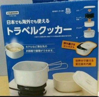 日本直送 100%new real Yazawa 旅行煱 電爐 空姐煱 旅行鍋 煮食煲 國際電壓 現貨