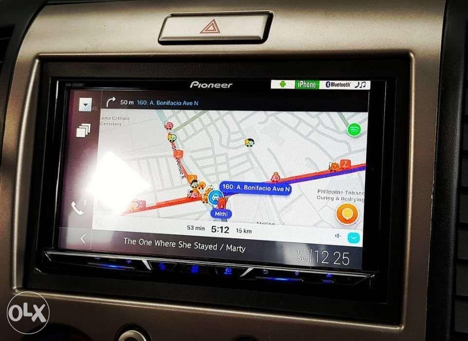 Pioneer Avh Z5050bt Carplay Android Bluetooth Waze GPS spotify