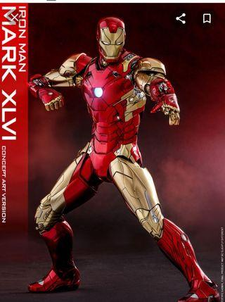 Iron Man Mark XLVI (Concept Art Version) MMS489-D25