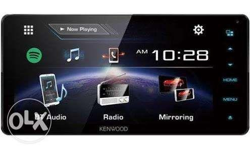 Kenwood LCD carplay Android Auto Waze Mirrorlink GPS spotify