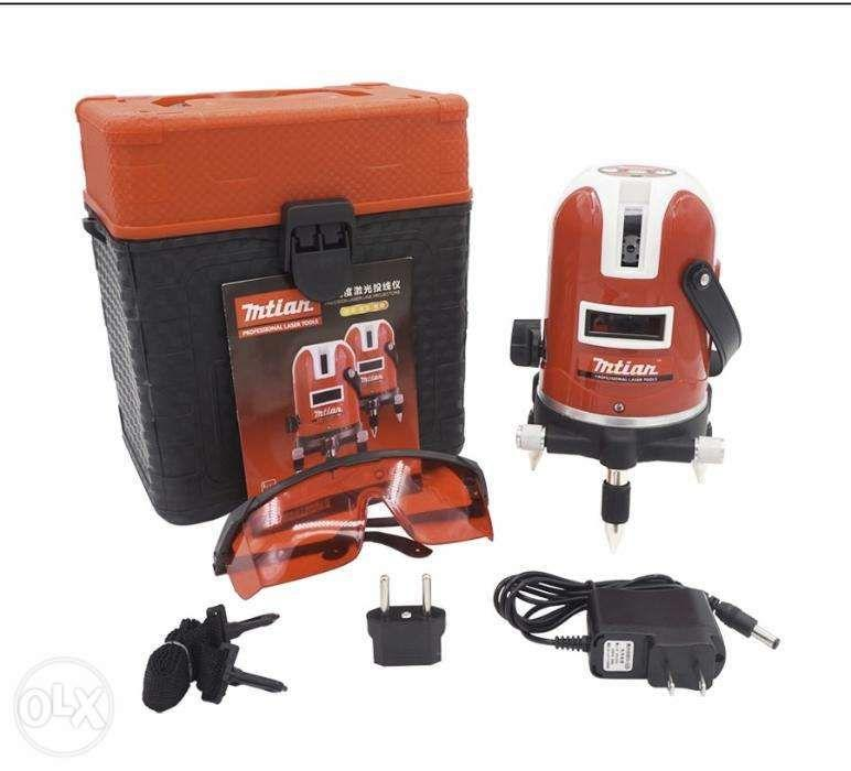 Mtian 5 lines 6 points laser level 360 cross laser leveling outdoor