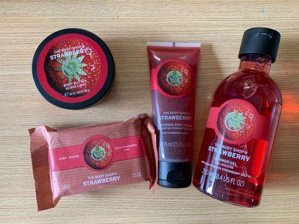 Body Shop strawberry-flavoured picks
