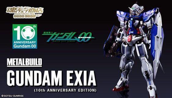 Metal Build Gundam Exia 魂 shop 00 10th Anniversary Edition