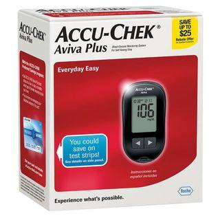 Accu-Chek Aviva Plus Diabetes Monitoring Kit 血糖機 針筆