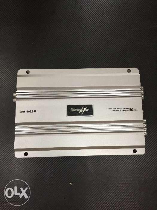 Team Lightning Lab Car Audio Amplifier 4 Channel Mono Class