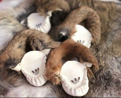Baby moccasins 0-3 months