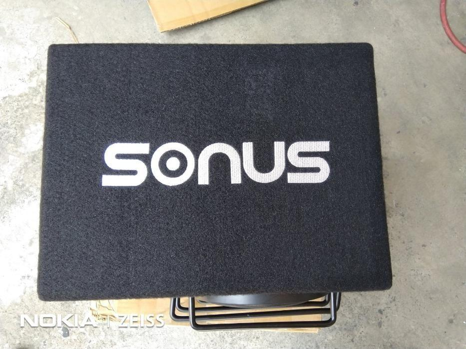 Sonus 6 Inch Subwoofer with Box Slot Port 500 Watts Max on
