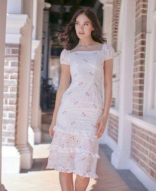 MDS New* Josna Ruffled Dress