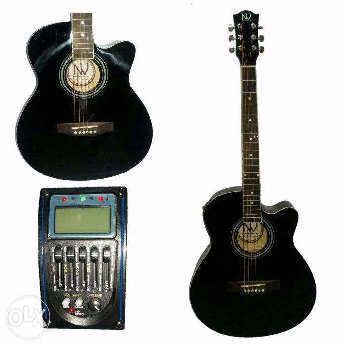 nashville acoustic electric guitar with tuner brand new music media music instruments on. Black Bedroom Furniture Sets. Home Design Ideas