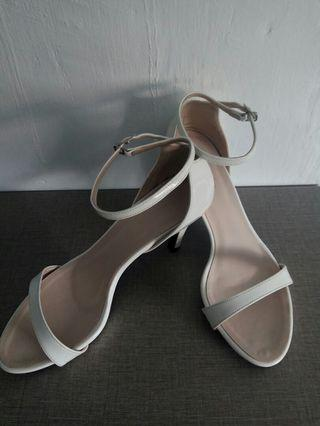 Christy Ng Bridal White Heel