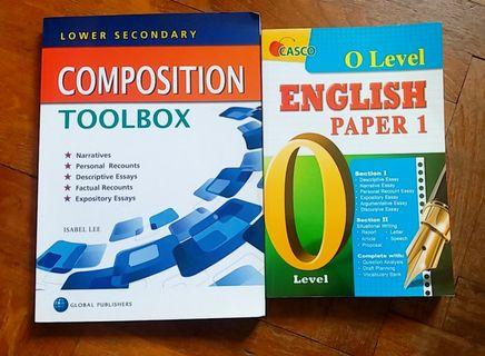 Secondary English Assessment Books