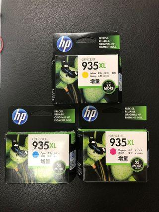 HP Ink Cartridges 935XL for sale