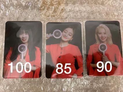 Twice Photocard CBZ