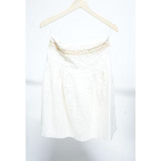Mango Skirt White - Preloved Salur