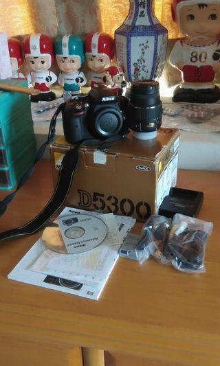 NIKON D5300 +18-55MM+MEMORI 16GB