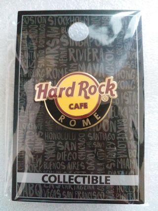 Hard Rock Cafe Pins ~ ROME HOT 2016 CLASSIC HRC LOGO PIN!