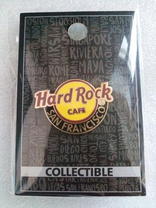 Hard Rock Cafe Pins ~ SAN FRANCISCO HOT 2014 CLASSIC HRC LOGO PIN!