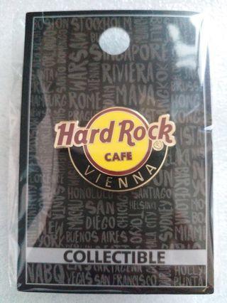 Hard Rock Cafe Pins ~ VIENNA HOT 2016 CLASSIC HRC LOGO PIN!