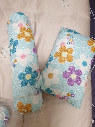 🚚 (Instock) Baby Bolster and Pillow