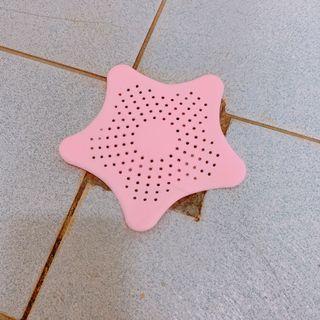 粉色星星 矽膠防堵排水孔蓋 地漏蓋