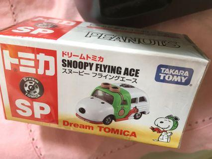 Peanuts Snoopy Flying Ace Dream Tomica ~ TAKARA TOMY