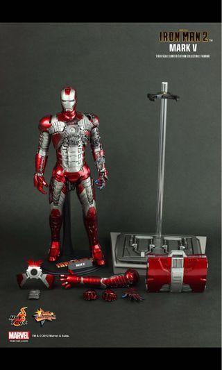 Hot toys iron man mark 5,6,7