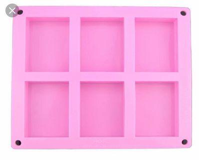 🚚 6 Rectangle Cavity Silicone Mold (3 pieces left)