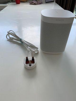 🚚 Sonos One smart speaker - white
