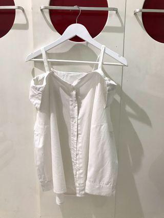 White Sabrina Shirt