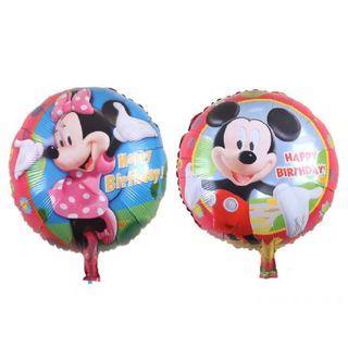 Mickey Mouse Balloon. Minnie balloon