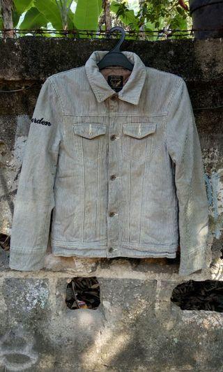 Jaket jeans biker levis