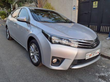 Toyota Corolla Altis 1.6G Automatic Financing OK