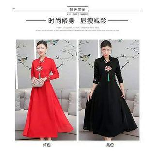 Dress cheongsam