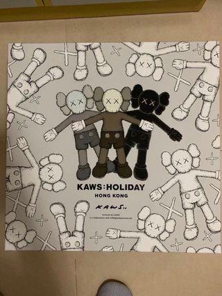 "KAWS:HOLIDAY 香港 20"" Companion 毛絨公仔 Number:15XX"