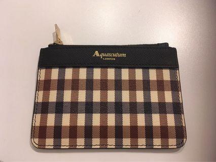 Aquascutum錢包 咭片袋