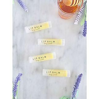 Handmade Honey+ Lavender Lip Balm
