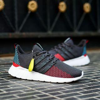 Adidas questar flow grey multicolor