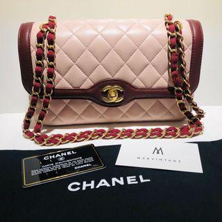 Chanel Lambskin Chain Shoulder Bag