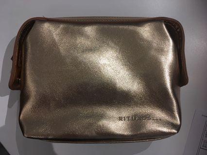 Rituals化妝袋(玫瑰金)