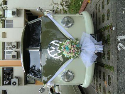 🚚 Wedding flowers