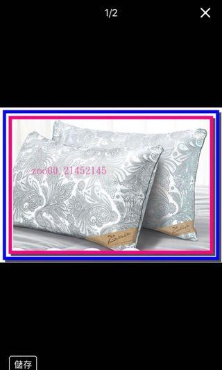 PICASSO 畢卡索印花羽絲絨枕.2入 原價1260