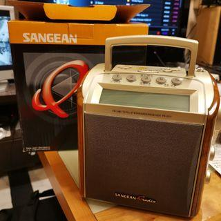 SANGEAN 山進 收音機 PR-D2V 數位顯示 tuner