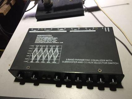 Cherokee Sound 5 Band Parametric Equalizer Pre Amp