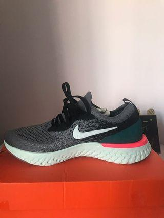 正版全新Nike react 潮流編織慢跑鞋 24公分 原價快4000