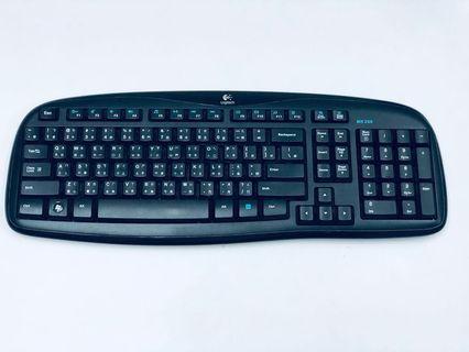 Logitech Wireless Keyboard MK 250