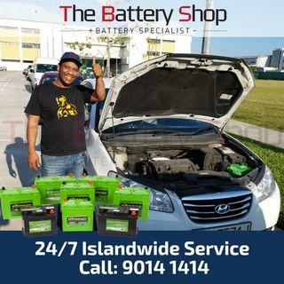 Car Battery Services - On-site Car Battery Replacement