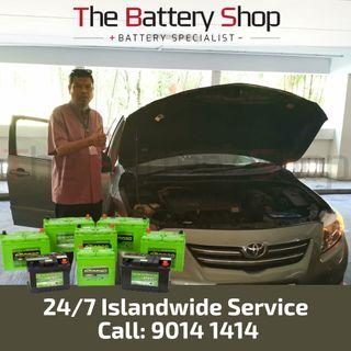 Change Car Battery - 24Hrs Car Battery Service