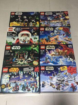 LEGO Star Wars Advent Calendar 2011-2018