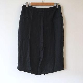 BNWT Nique Sample Black Tencel Skirt