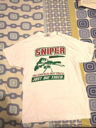 US BASIC White Tshirt